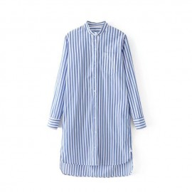 Mao Stripe Tunic