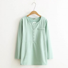 LM+ Casual Blouse (4 Color)
