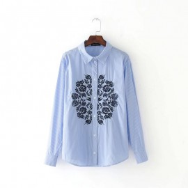Reflection Motif Shirt