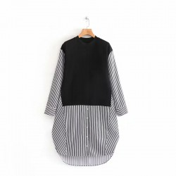 Combination Stripe Tunic
