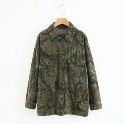 Graffiti Military Jacket