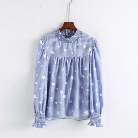Star Motif Blouse