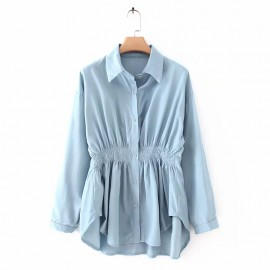 Gathered Waist Shirt