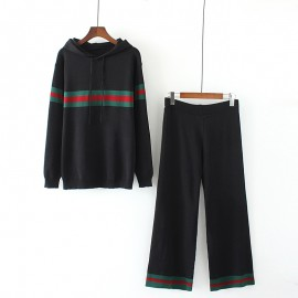 LM+ Hooded Pullover and Pants Set