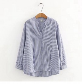 LM+ Stripe Blouse