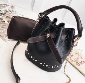 Bucket Bag with Studs