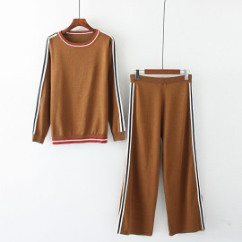 LM+ Knit Top and Pants Set