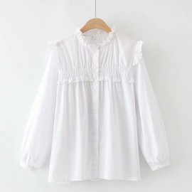 LM+ Frill Detail Blouse