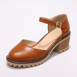 Shoes with Ankle Strap (Extra Size)