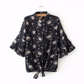 LM+ Flare Floral Shirt