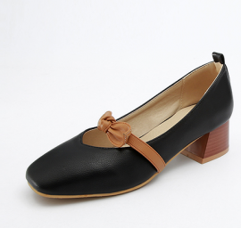 Shoe with a bow (Extra Size)