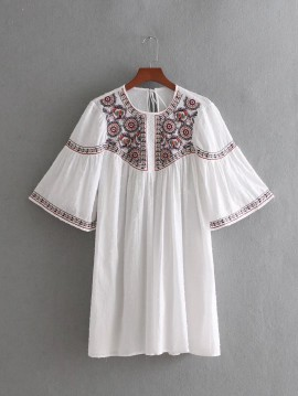 Intricate Embroidery Dress