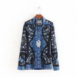 Baroque Motif Shirt