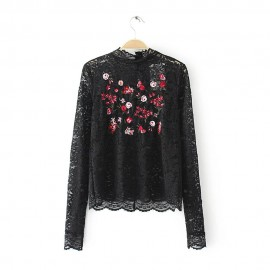 Lace Embroidery Top