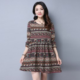 Aztec Inspired Dress