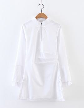 Long White Tunic
