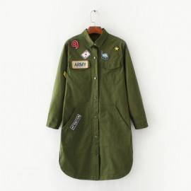 Military Tunic with Badge