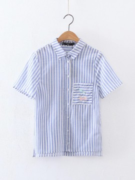 Cherry Stripe Shirt