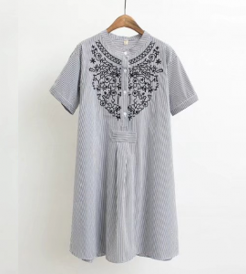 LM+ Embroidered Tunic