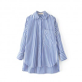 Stripe Shirt with Applique