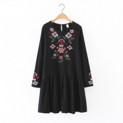 Floral Embroidered Dress