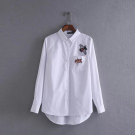 Embroidery Badge Shirt