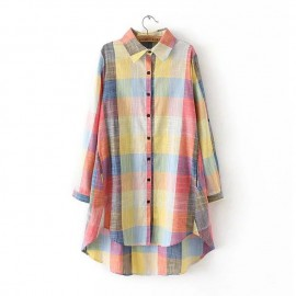 LM+ Checkered Shirt (3 Color)