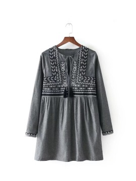 Embroidered Motif Tunic