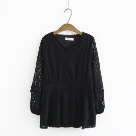 LM+ Lace Blouse