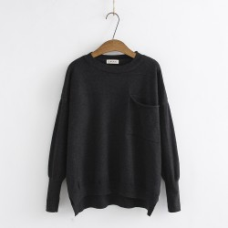 LM+ Casual Knit Pullover
