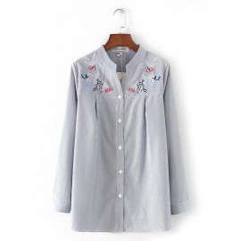 LM+ Embroidery Motif Blouse