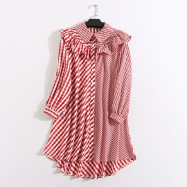 LM+ Long Gingham Shirt