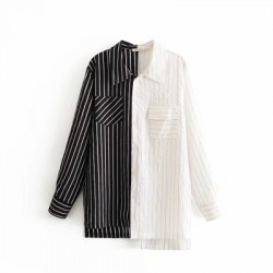 Combination Stripe Shirt