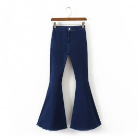 Bell Shape Denim Jeans