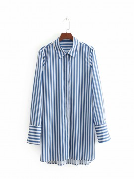 Long Stripe Shirt