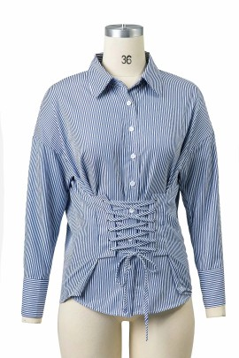 Basic Shirt with Cinch Waist