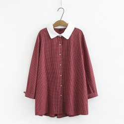 LM+ Gingham Collared Shirt