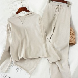 Hoodie Top and Pants Set