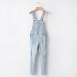 Denim Pantsuit