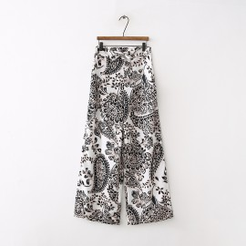 Baroque Drawstring Pants
