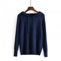 Hooded Knit Pullover