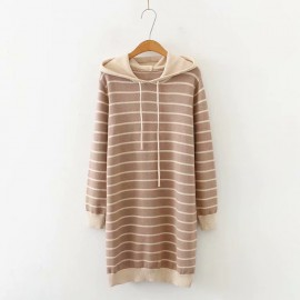 LM+ Knit Hoodie Tunic