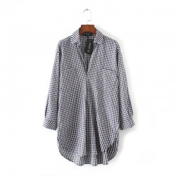 Checkered Shirt (2 Color)