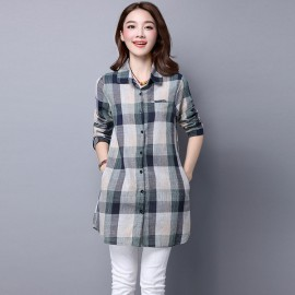 Checkered Shirt (2 Colors)