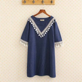 LM+ Tunic with Tassel