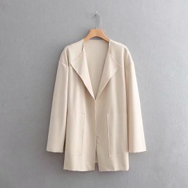 Open Lapel Cardigan