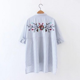 Shirt with Embroidery Back