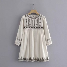 Embroidery Motif Dress