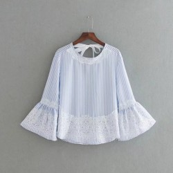 Lace Combination Top