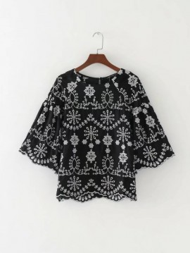 Crotchet Motif Top